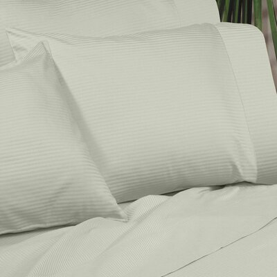 Regan Egyptian Quality Cotton Sham Size: Standard, Color: Sage