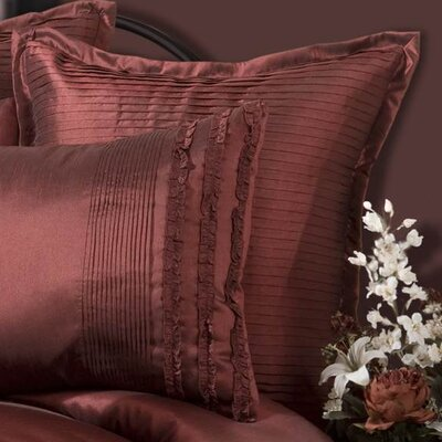 Aiden European Sham Color: Pomegranate