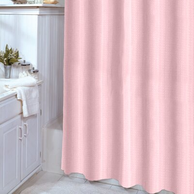 Celine Shower Curtain Color: Blush