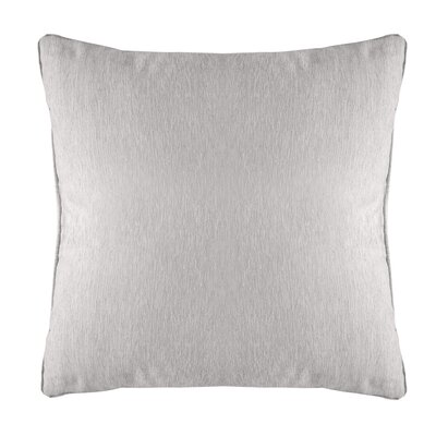 Brownsburg Modern Chenille Euro Pillow Color: White