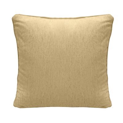 Brownsburg Square Chenille Throw Pillow Color: Gold