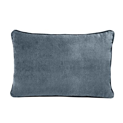 Ted Velvet 100% Cotton Boudoir Pillow Color: Electric Blue