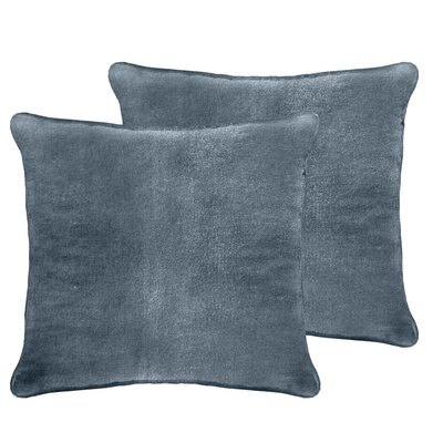 Ted Velvet Euro Pillow Color: Juniper