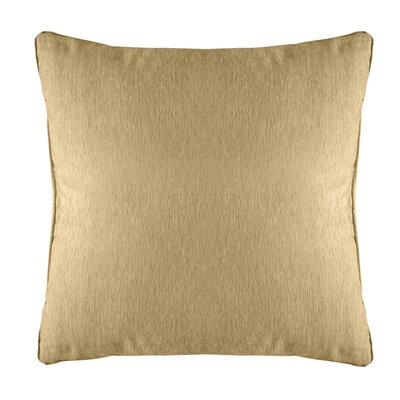 Brownsburg Modern Chenille Euro Pillow Color: Gold