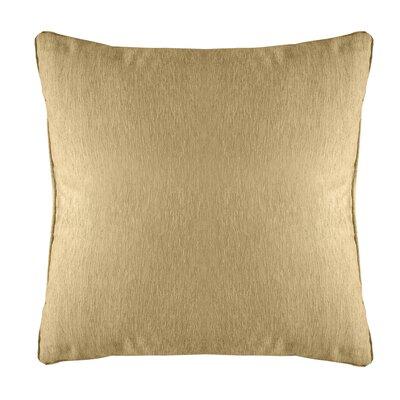 Brownsburg Modern Chenille Euro Pillow Color: Gold