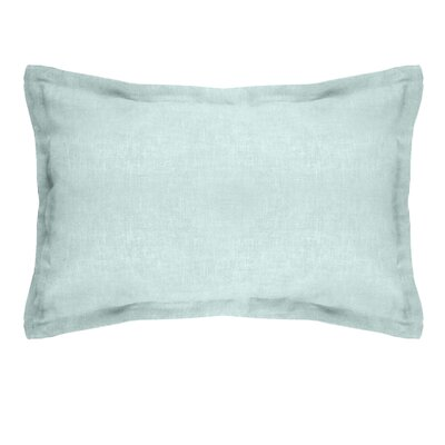 Brownstown Linen Boudoir Pillow Color: Mineral Blue