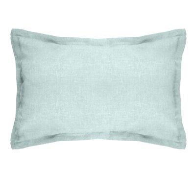 Gotham Linen Boudoir Pillow Color: Mineral Blue