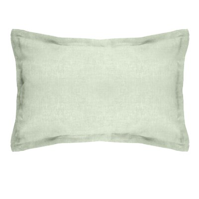 Gotham Linen Boudoir Pillow Color: Sage