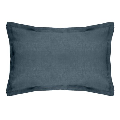 Gotham Linen Boudoir Pillow Color: Dark Teal