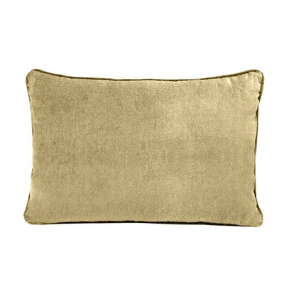 Ted Velvet 100% Cotton Boudoir Pillow Color: Jasmine