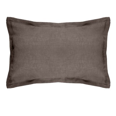 Brownstown Linen Boudoir Pillow Color: Brown