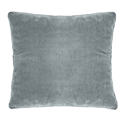 Ted Velvet 100% Cotton Boudoir Pillow Color: Powder Blue