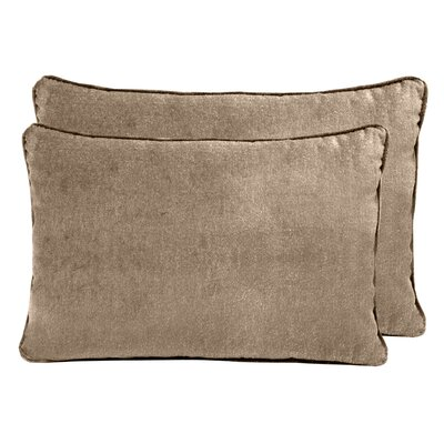 Ted Velvet Boudoir Pillow Color: Pebble