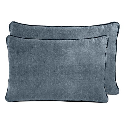 Ted Velvet Boudoir Pillow Color: Juniper