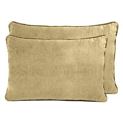 Luxury Velvet Boudoir Pillow Color: Apple Cider