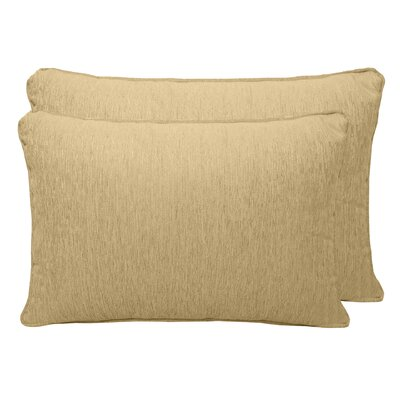 Brownsburg Chenille Boudoir Pillow Color: Wheat
