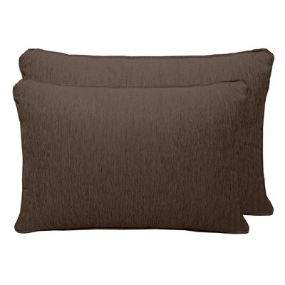 Brownsburg Chenille Boudoir Pillow Color: Brown Stone