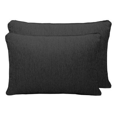 Brownsburg Chenille Boudoir Pillow Color: Charcoal