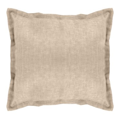 Brownstown Linen Euro Sham Color: Linen