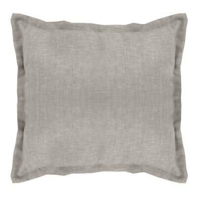 Brownstown Linen Euro Sham Color: Dark Gray