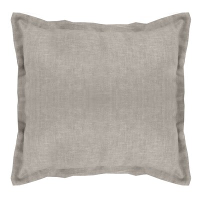 Brownstown Linen Euro Sham Color: Gray