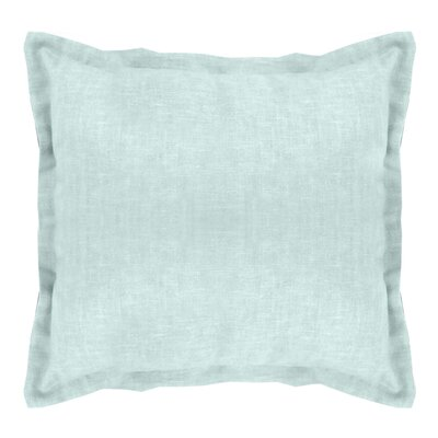 Brownstown Linen Euro Sham Color: Mineral Blue