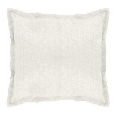 Brownstown Linen Euro Sham Color: Pearl