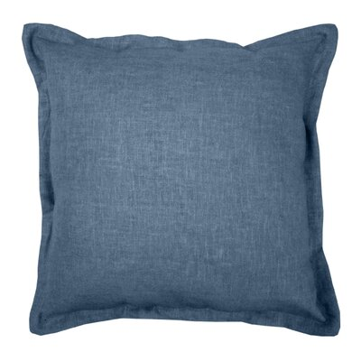 Brownstown Linen Throw Pillow Color: Indigo