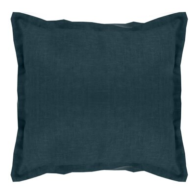 Brownstown Linen Throw Pillow Color: Dark Teal