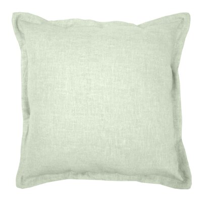 Brownstown Linen Throw Pillow Color: Sage