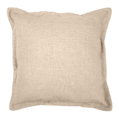 Gotham Linen Throw Pillow Color: Linen