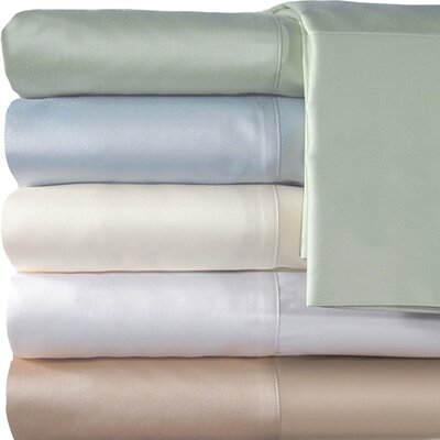 Supreme Sateen 300 Thread Count Solid Sheet Set Color: Ivory, Size: Twin