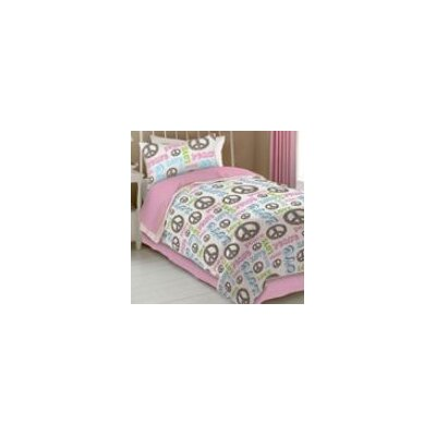 Peace and Love Sheet Set Size: Queen