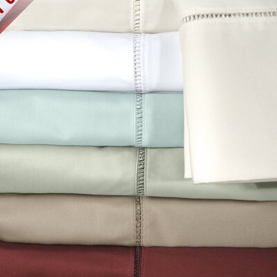 Legacy 500 Thread Count Sheet Set Color: Ivory, Size: Queen