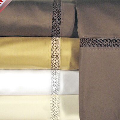 Princeton 800 Thread Count Sheet Set Color: Ivory, Size: Queen