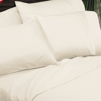 Regan Egyptian Quality Cotton Sheet Set Size: Full, Color: Ivory