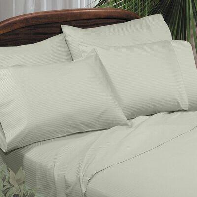 Regan Egyptian Quality Cotton Sheet Set Color: Sage, Size: Full