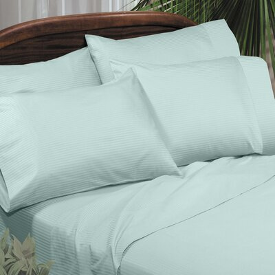 Regan Egyptian Quality Cotton Sheet Set Size: Full, Color: Blue