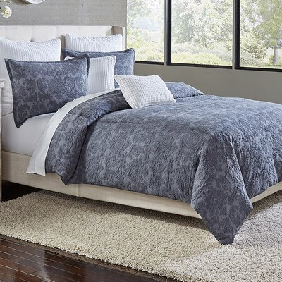Tessa 3 Piece Duvet Cover Set Size: Queen