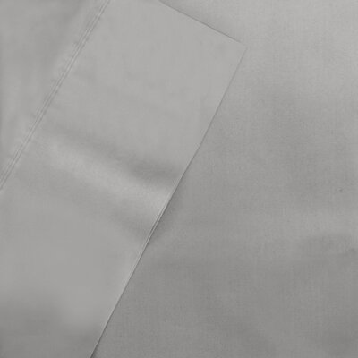 600 Thread CountTencel Pillow Case Pair Color: Gray, Size: Standard