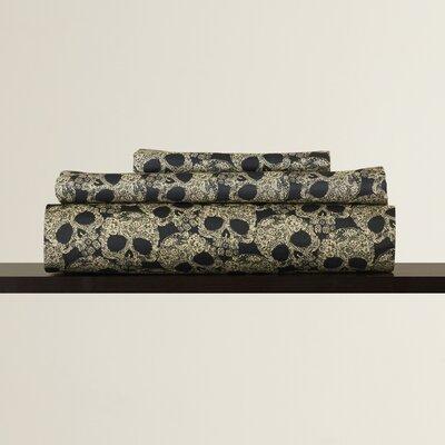 Vollmer Floral Skulls Sheet Set
