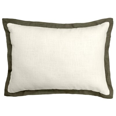 Bluffridge Linen Boudoir Pillow Color: Java