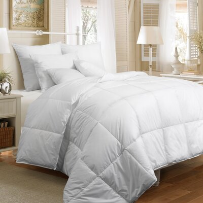 Down Althernative Cotton 7 Piece Comforter Set Size: King