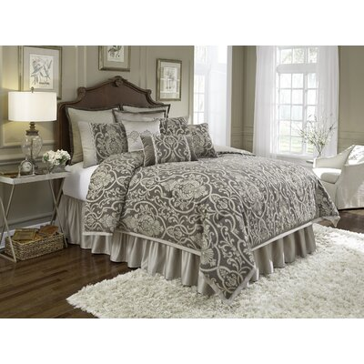 Redmon 10 Piece Comforter Set Size: King
