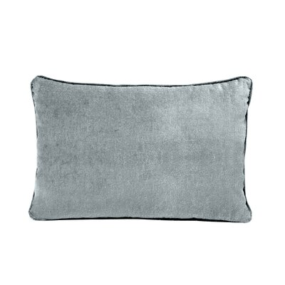 Ted Velvet 100% Cotton Boudoir Pillow Color: Frost