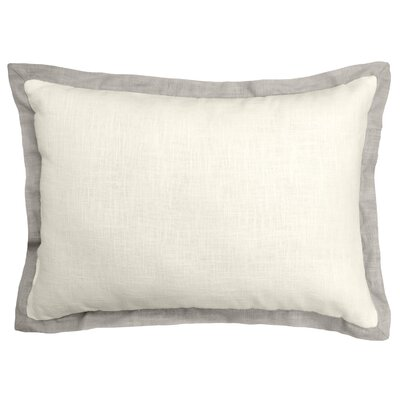 Bluffridge Linen Boudoir Pillow Color: Light Gray