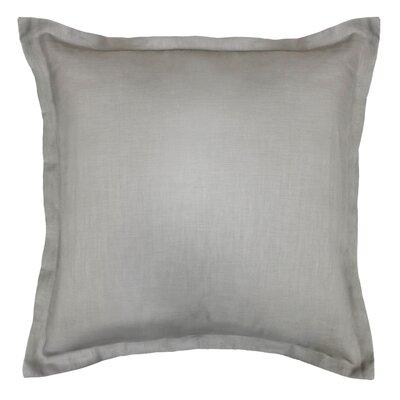 Bluffridge Linen Euro Pillow Color: Gray