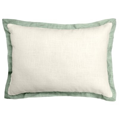 Bluffridge Linen Boudoir Pillow Color: Sage