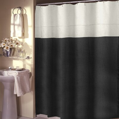 Teo Shower Curtain Color: Taupe