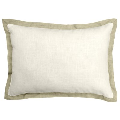 Bluffridge Linen Boudoir Pillow Color: Biege